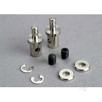 Servo rod connectors (2 pcs) / 3mm Set screws