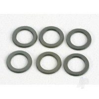 Washers, PTFE-coated 4x6x.5mm