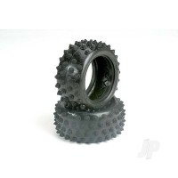 Tires, 2.15 spiked (rear) (2pcs)