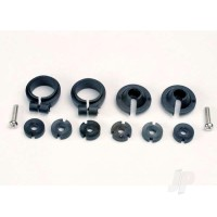 Piston head Set, (2 Sets of 3 types) / shock collars (2 pcs) / spring retainers (2 pcs)