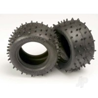 Tires, low-profile spiked 2.2in (2pcs)