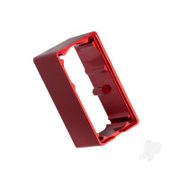 Servo case, aluminium (red-anodized) (middle) (for 2255 servo)