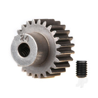 Gear, 24-T pinion (48-pitch) / set screw