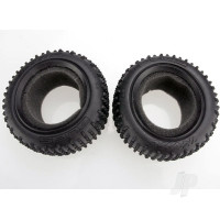 Tires, Alias 2.2in (rear) (2pcs) / foam inserts (Bandit) (soft compound)