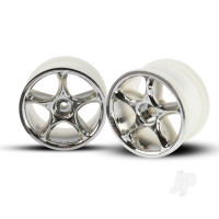 Wheels, Tracer 2.2in (chrome) (2pcs) (Bandit rear)