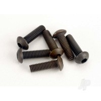 Screws, 3x10mm button-head machine (hex drive) (6 pcs)