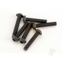 Screws, 3x15mm button-head machine (hex drive) (6 pcs)
