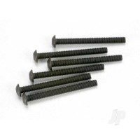 Screws, 3x30mm button-head machine (hex drive) (6 pcs)