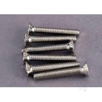 Screws, 3x20mm countersunk machine screws (6pcs)