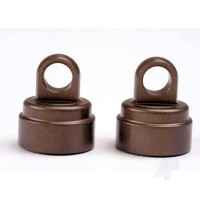 Shock caps, aluminium (Big Bore shocks) (2 pcs)