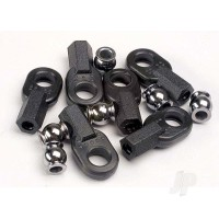 Rod ends, Long (6pcs) / hollow ball connectors (6pcs)