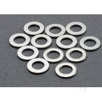 Washers, 3x6mm metal (12 pcs)