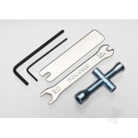 Tool Set (1.5mm &2.5mm allens / 4-way lug, 8mm &4mm wrench & U-joint wrenches)