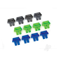 Battery charge indicators (Green (4 pcs), Blue (4 pcs), grey (4 pcs))