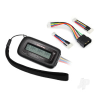 LiPo cell voltage checker / balancer (includes #2938X adapter for Traxxas iD batteries)