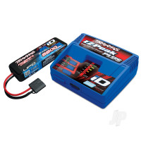 Battery / charger completer pack (includes #2970 iD charger (1pc), #2843X 5800mAh 7.4V 2-cell 25C LiPo battery (1pc))