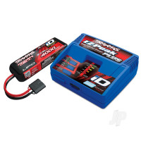 Battery & Charger Completer Pack (1x iD charger, 1x LiPo 11.1V 3-cell 4000mAh) (for UK)