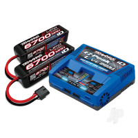 iD Completer Pack with 1x EZ-Peak Live Dual Charger & 2x LiPo 4S 6700mAh Battery