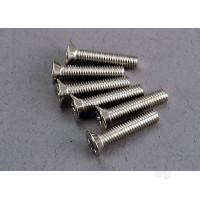 Screws, 3x15mm countersunk machine (6pcs)