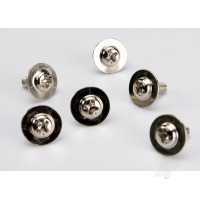Screws, 3x8mm washerhead machine (large head for motor mount) (6 pcs)