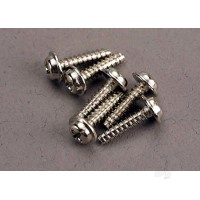 Screws, 3x12mm washerhead self-tapping (6 pcs)