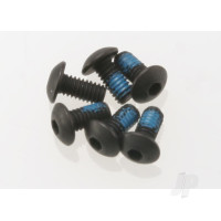 Screws, 2.5x5mm button-head machine (hex drive) (6pcs)