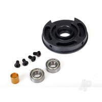 Rebuild kit, Velineon 3500 (includes plastic endbell, 5x11x4mm ball bearings (2 pcs), 2.5x5mm BCS ( with threadlock) (4 pcs), Rear bushing)
