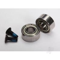 Rebuild kit, Velineon 380 (4x9x4mm ball bearings (2 pcs), 2x6mm CCS ( with threadlock) (2 pcs), Front shims (2 pcs))