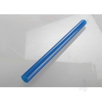 Exhaust tube, silicone (blue) (N. Stampede)