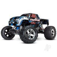Blue Stampede 1:10 2WD Monster Truck (+ TQ, XL-5, Titan 550, 7-Cell NiMH, DC Charger)