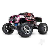 Pink Stampede 1:10 2WD Monster Truck (+ TQ, XL-5, Titan 550, 7-Cell NiMH, DC Charger)