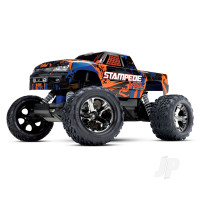 Stampede VXL:  1/10 Scale Monster Truck with TQi Traxxas Link Enabled 2.4GHz Radio System & Traxxas Stability Management (TSM)