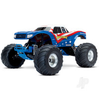Red, White & Blue Bigfoot 1:10 Officially Licensed Replica Monster Truck RTR (+ TQ, XL-5, 7-Cell NiMH 3000mAh)
