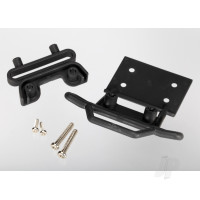 Bumper, Front / bumper mount, Front / 4x23mm RM (2 pcs) / 3x10mm RST (2 pcs) (black)