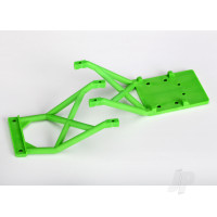 Skid plates, Front & Rear (Green)