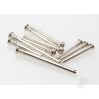 Suspension screw pin Set, Steel (hex drive) (requires part #2640 for a complete suspension pin Set) (Bandit, Rustler, Stampede)