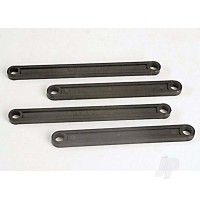 Camber link Set (plastic / non-adjustable) (Front & Rear) (black)