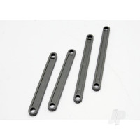 Camber link Set (plastic / non-adjustable ) ( Front & Rear) (grey)
