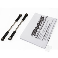 Turnbuckles, toe link, 61mm (96mm center to center) (2pcs) (assembled with rod ends and hollow balls) (fits Stampede)