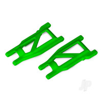 Suspension arms, green, front & rear (left & right) (2pcs) (heavy duty, cold weather material)