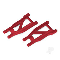 Suspension arms, red, front & rear (left & right) (2pcs) (heavy duty, cold weather material)