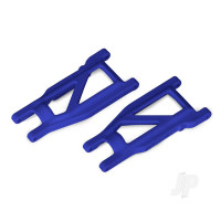 Suspension arms, blue, front & rear (left & right) (2pcs) (heavy duty, cold weather material)