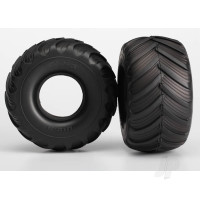Tyres, Terra Groove (dual profile 5.3inx2.7in- 2.0in) (2pcs) / foam inserts (2pcs)