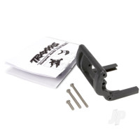 Wheelie bar mount (1pc) / hardware (black)