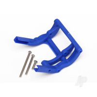 Wheelie bar mount (1pc) / hardware (blue)