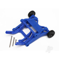 Wheelie bar, assembled (Blue) (fits Slash, Bandit, Rustler, Stampede series)