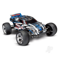 Blue Rustler 1:10 Stadium Truck with TQ 2.4 GHz radio system