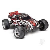 Red Rustler 1:10 Stadium Truck with TQ 2.4 GHz radio system