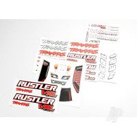 Decal sheets, Rustler VXL