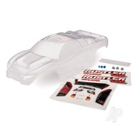 Body, Rustler (clear, requires painting) / window, lights decal sheet / wing and aluminium hardware